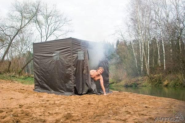 «Походная баня-палатка» фото - 126096053