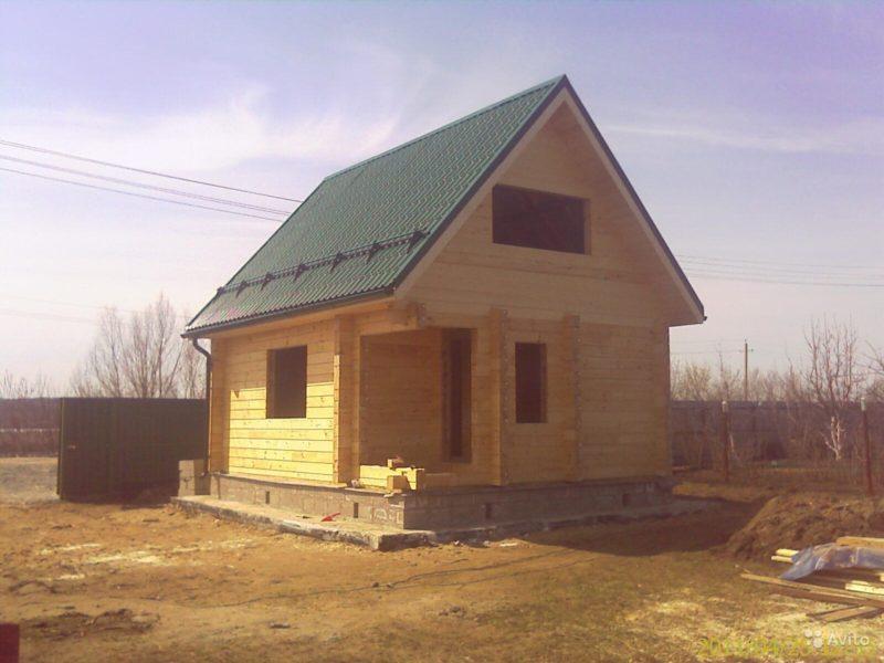 «Строительство домов и бань в Москве из бруса» фото - 1588905460 800x600