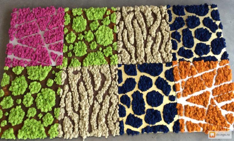 «Декоративный мох: разновидности, где применяется» фото - 19 1 800x484