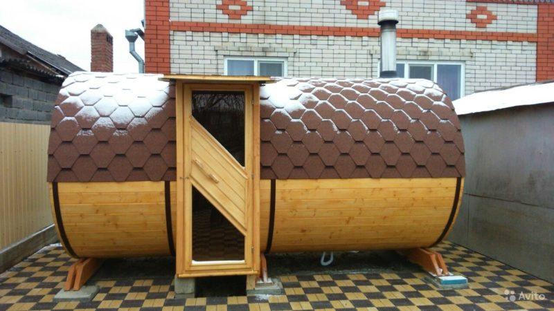«Финские бани-бочки с боковым входом» фото - 3228371482 800x450