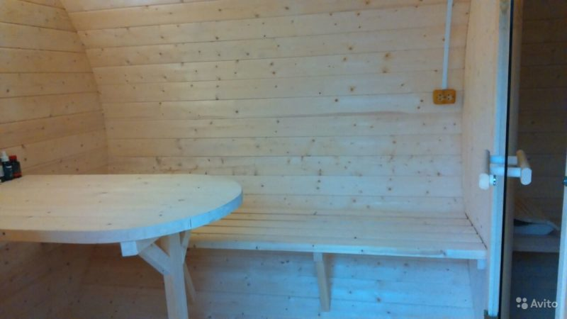 «Финские бани-бочки с боковым входом» фото - 3228372150 800x450