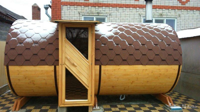 «Финские бани-бочки с боковым входом» фото - 3228372464 800x450