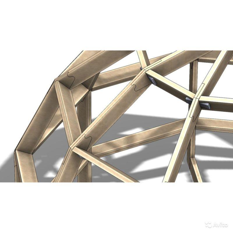 «Каркас-конструктор бани, беседки, домика 12 кв.м» фото - 3267756342 800x800
