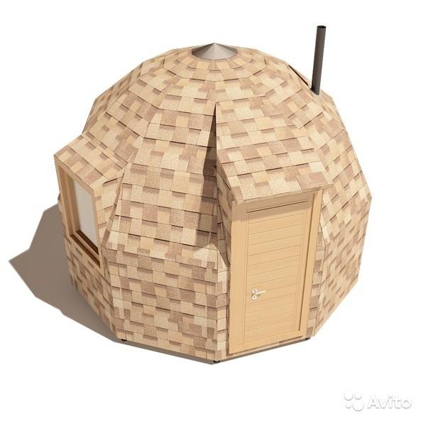 «Каркас-конструктор бани, беседки, домика 12 кв.м» фото - 3267757449