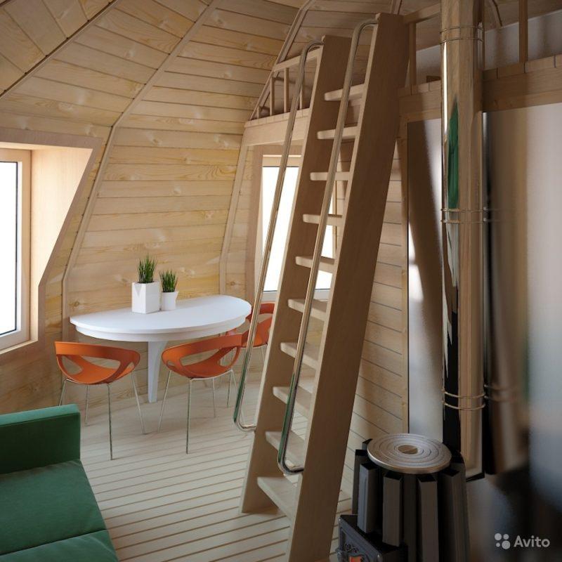 «Каркас-конструктор дома, бани, гаража 28 кв.м» фото - 3267822950 800x800