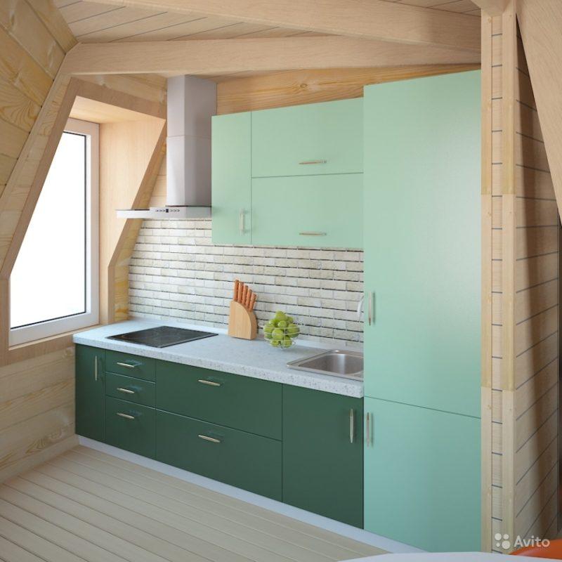 «Каркас-конструктор дома, бани, гаража 28 кв.м» фото - 3267823341 800x800