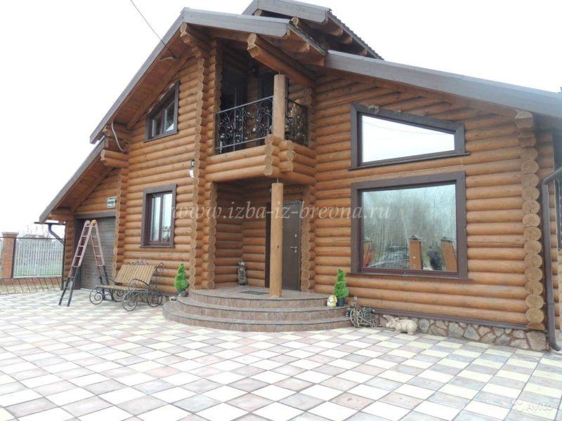 «строительство деревянных домов от 25 м3, коттеджей, бань» фото - 3429816747 800x600