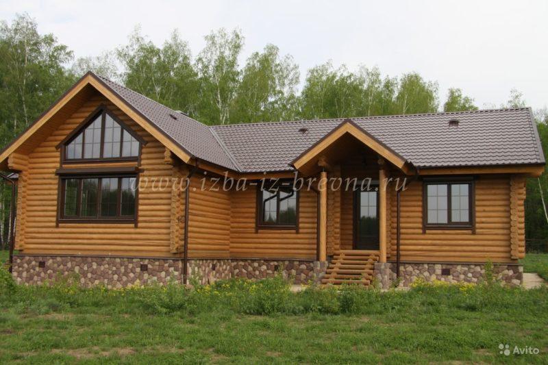 «строительство деревянных домов от 25 м3, коттеджей, бань» фото - 3429817237 800x533
