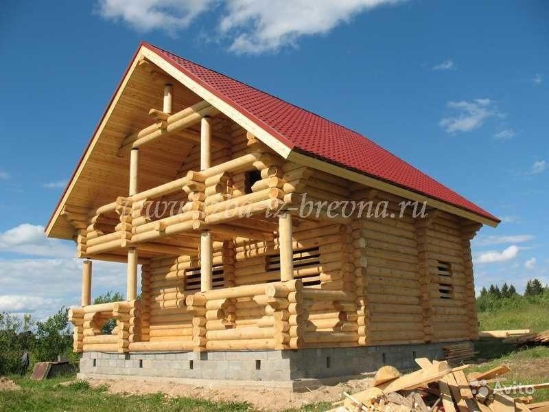 «строительство деревянных домов от 25 м3, коттеджей, бань» фото - 3429817459 800x600