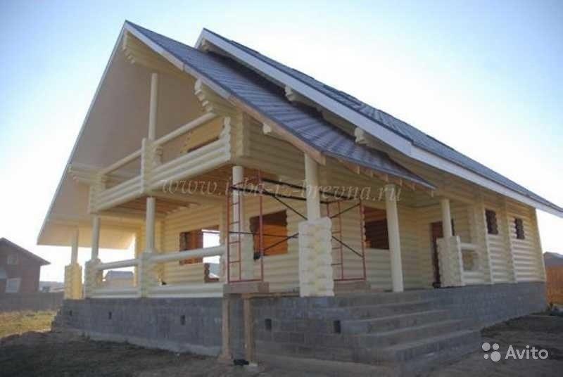 «строительство деревянных домов от 25 м3, коттеджей, бань» фото - 3429817965 800x536