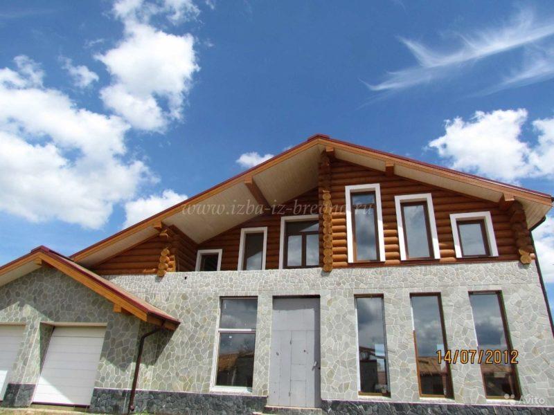 «строительство деревянных домов от 25 м3, коттеджей, бань» фото - 3429841325 800x600