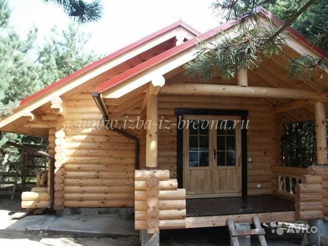 «строительство деревянных домов от 25 м3, коттеджей, бань» фото - 3429850063