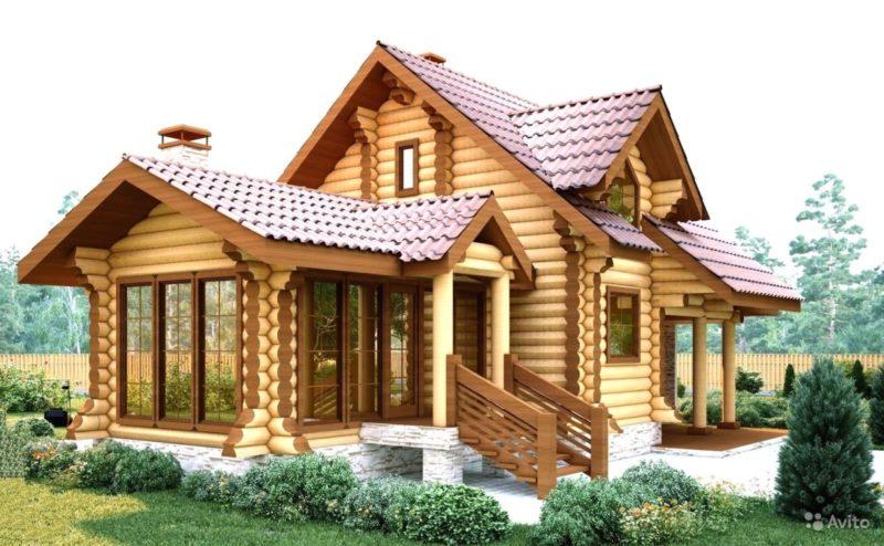 «строительство деревянных домов от 25 м3, коттеджей, бань» фото - 3440384501 800x494