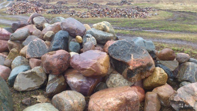 «Камень валун валдайский ледниковый отборный» фото - 3494066534 800x450