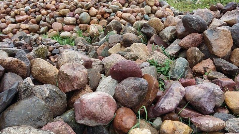 «Камень валун валдайский ледниковый отборный» фото - 3494075238 800x450
