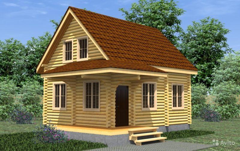 «Строительство деревянных домов и бань» фото - 3589700632 800x506