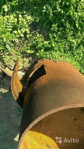 «Печь для бани из толстенного железа» фото - 3591831291