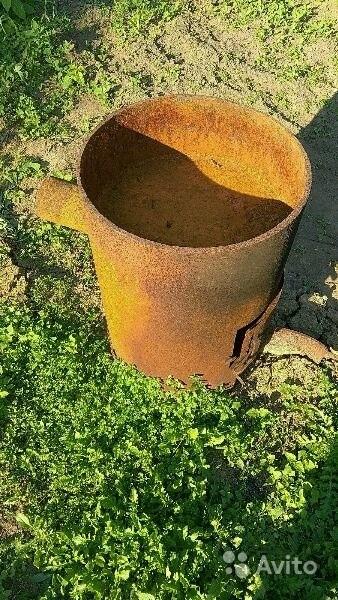 «Печь для бани из толстенного железа» фото - 3591831297