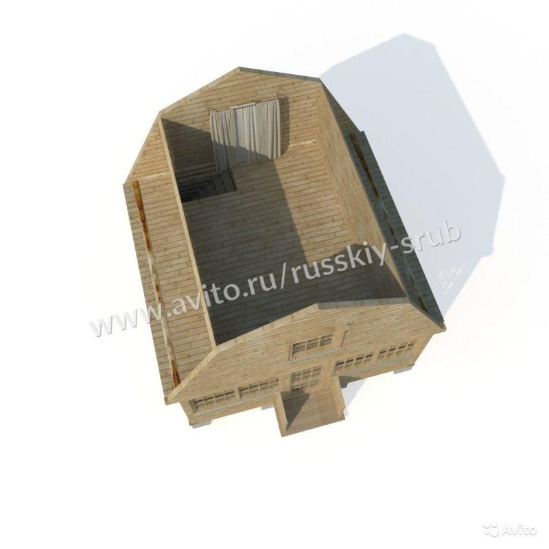 «Сруб бани с верандой 215 000 рублей» фото - 3599281590 800x800