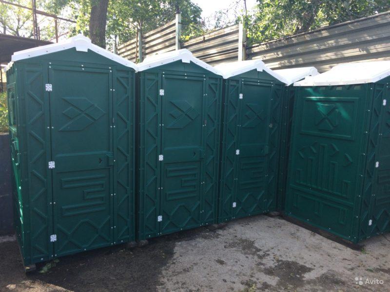 «Туалетная кабина б/у» фото - 3626803654 800x600