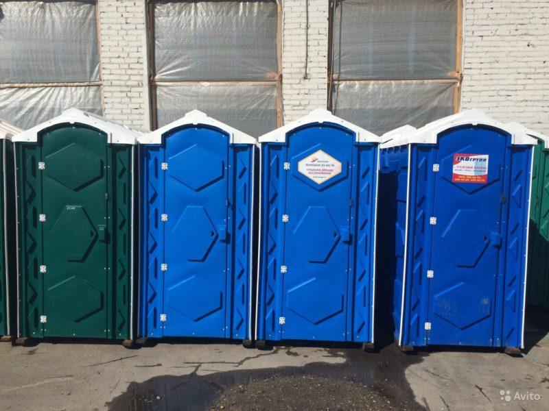 «Туалетная кабина б/у» фото - 3626803660 800x600