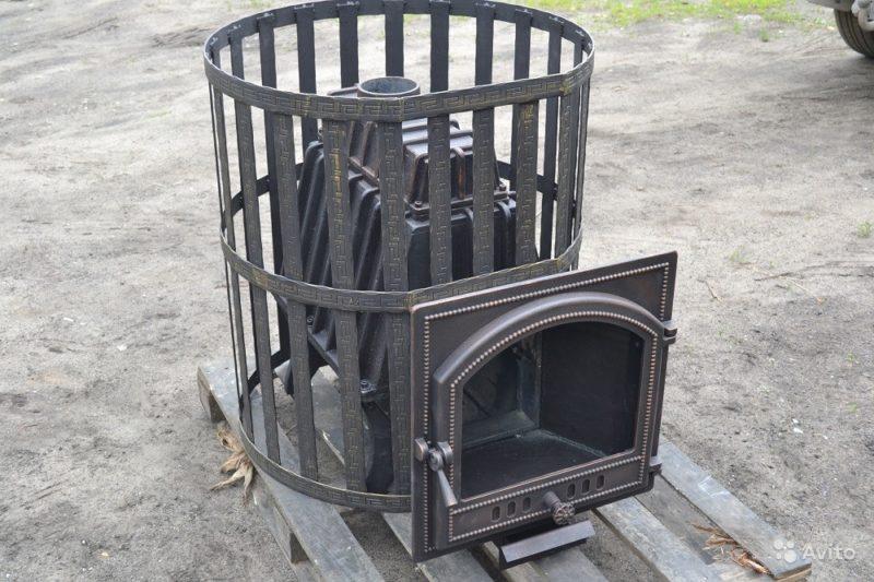 «Банная цельнолитая печь» фото - 3627187674 800x533