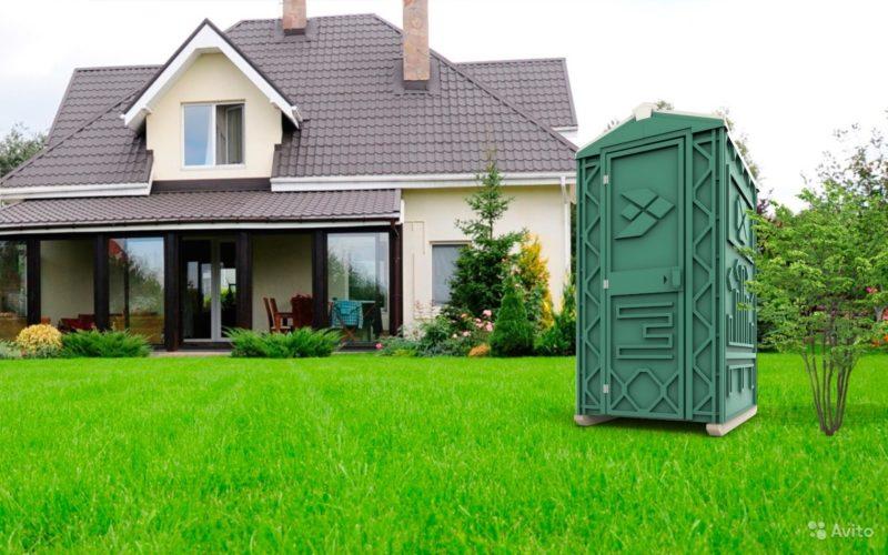 «Туалетная кабина б/у» фото - 3662192486 800x500