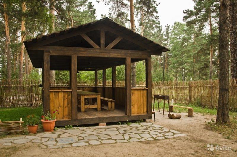 «Беседки и садовые домики» фото - 3672493725 800x530