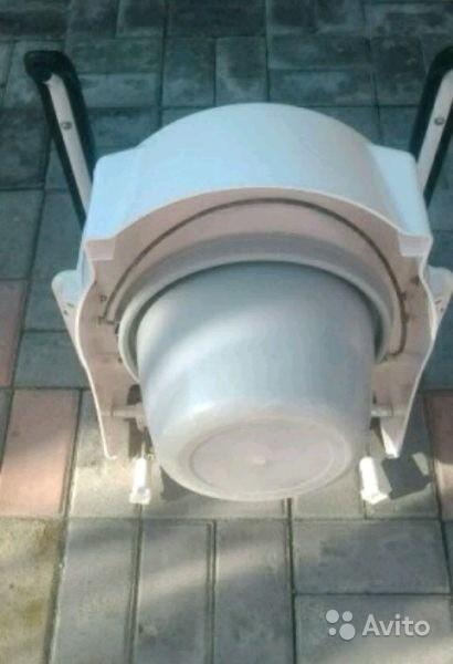«Биотуалет с кожаными подлокотниками» фото - 3674910848