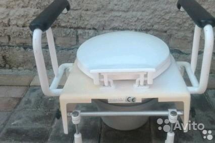 «Биотуалет с кожаными подлокотниками» фото - 3674910852