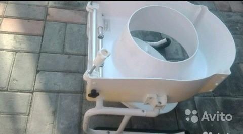 «Биотуалет с кожаными подлокотниками» фото - 3674910883