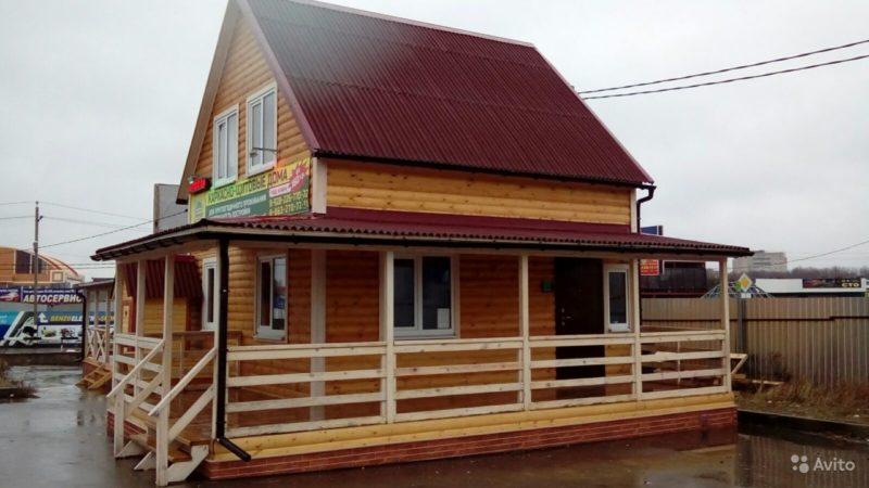 «Каркасно-щитовые бани и дома 6х6» фото - 3706685260 800x450