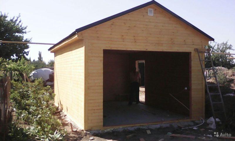 «Каркасно-щитовые гаражи, бани под ключ» фото - 3837841252 800x480