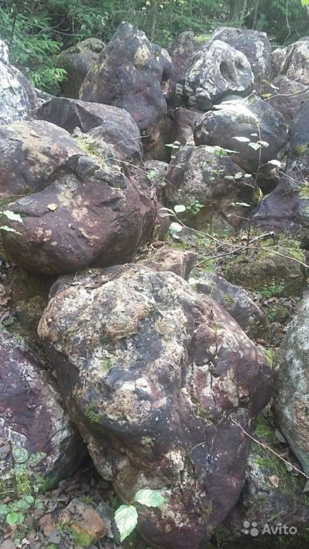 «Камень валун валдайский ледниковый отборный» фото - 3853270720 450x800