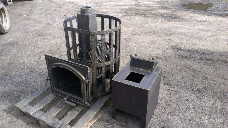 «Банная цельнолитая печь» фото - 3855139910 800x450