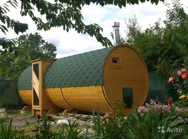«Бани бочки 6 метров, диаметр 2,2 метра.» фото - 3887008041