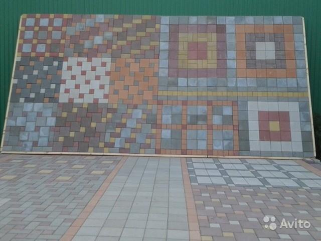 «Сухопрессованная тротуарная Плитка jот 390р/м2 и Бордюр от 150р/мп» фото - 4011208808