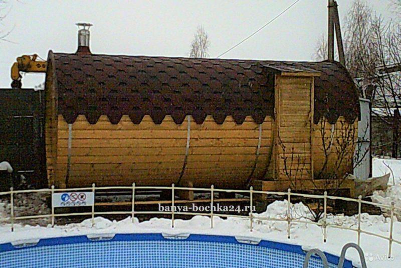 «Мини баня из мини бруса» фото - 4039058437 800x536