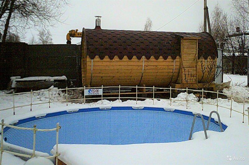 «Мини баня из мини бруса» фото - 4039058443 800x533