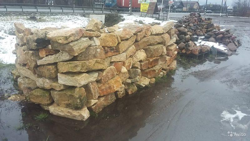 «Камень валун валдайский ледниковый отборный» фото - 4058943622 800x450