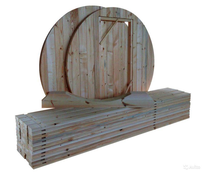 «Баня бочка. Комплект для сборки» фото - 4171052115 800x677