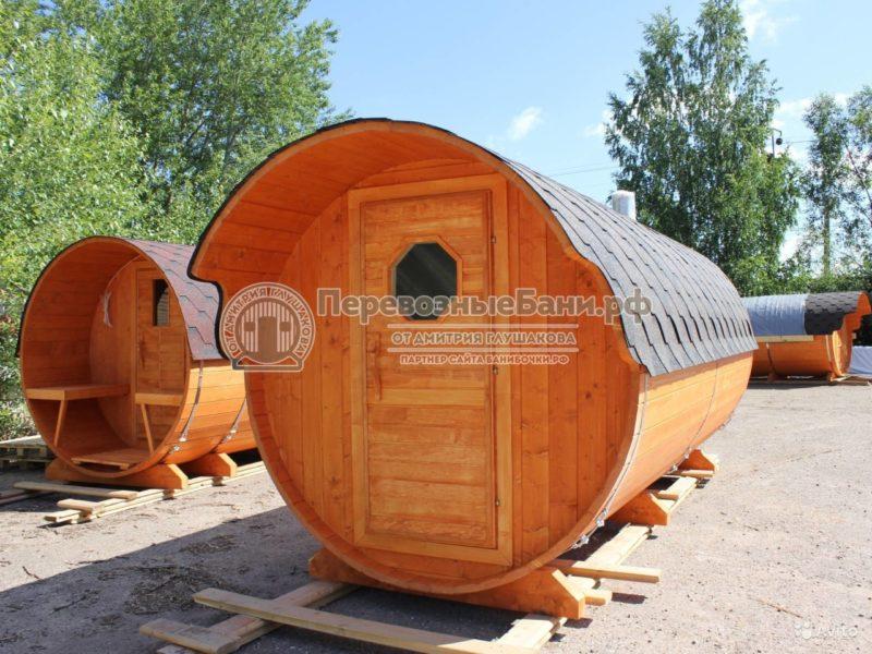 «Баня бочка 4м» фото - 4187330140 800x600