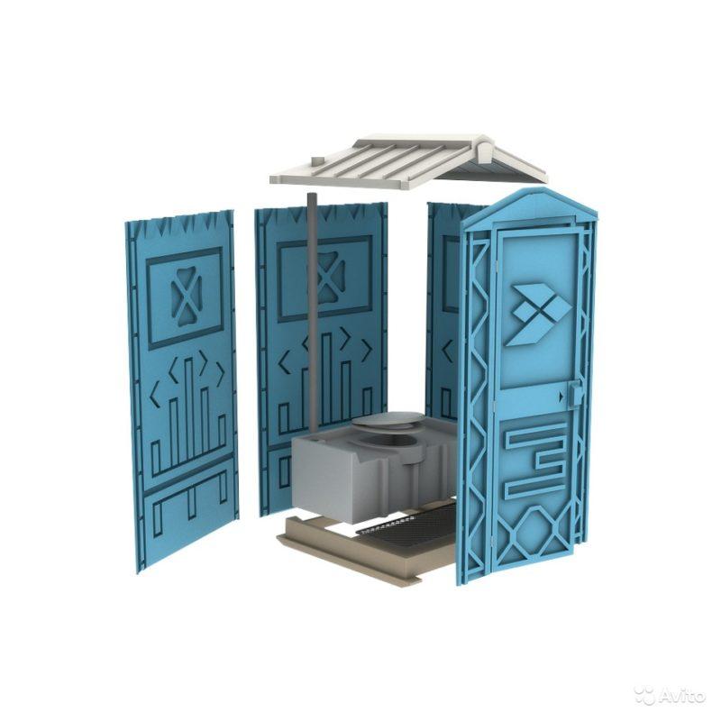 «Новая туалетная кабина от экогрупп» фото - 4215616836 800x800