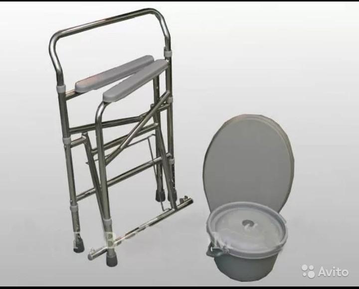 «Биотуалет с кожаными подлокотниками» фото - 4258686855