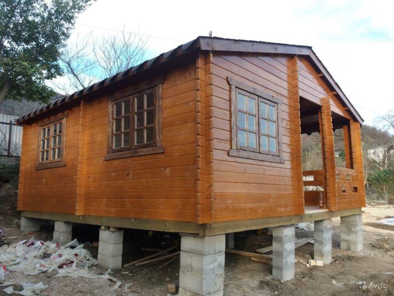 «Строительство бань, домов, беседок» фото - 4315816322 800x600