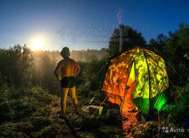 «Мобильная баня-палатка прокат» фото - 4346992945 800x587