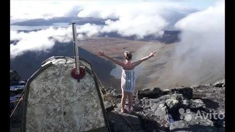 «Мобильная баня-палатка прокат» фото - 4347042798