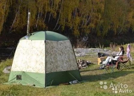 «Мобильная баня-палатка прокат» фото - 4347043685