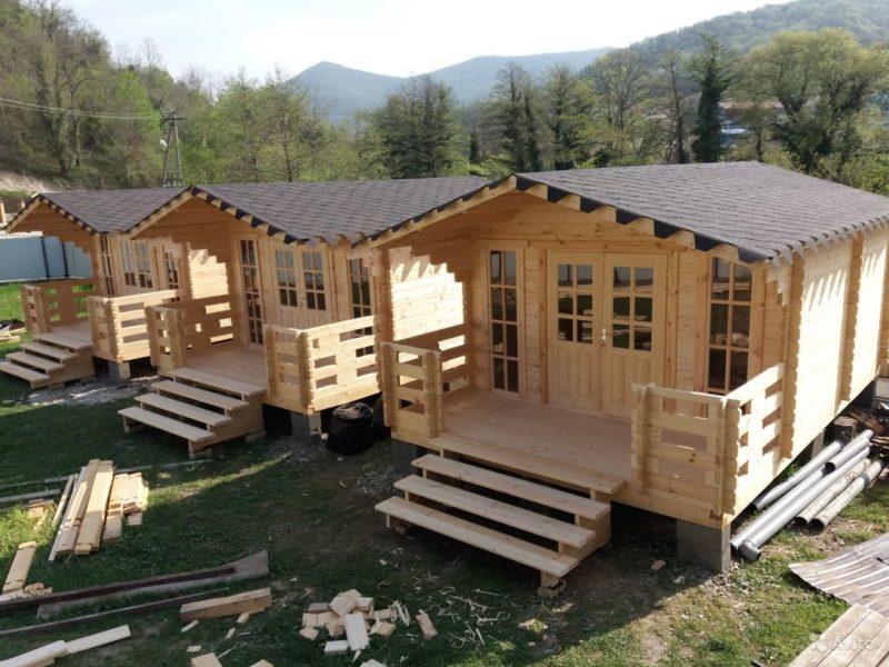 «Строительство бань, домов, беседок» фото - 4375173091 800x600