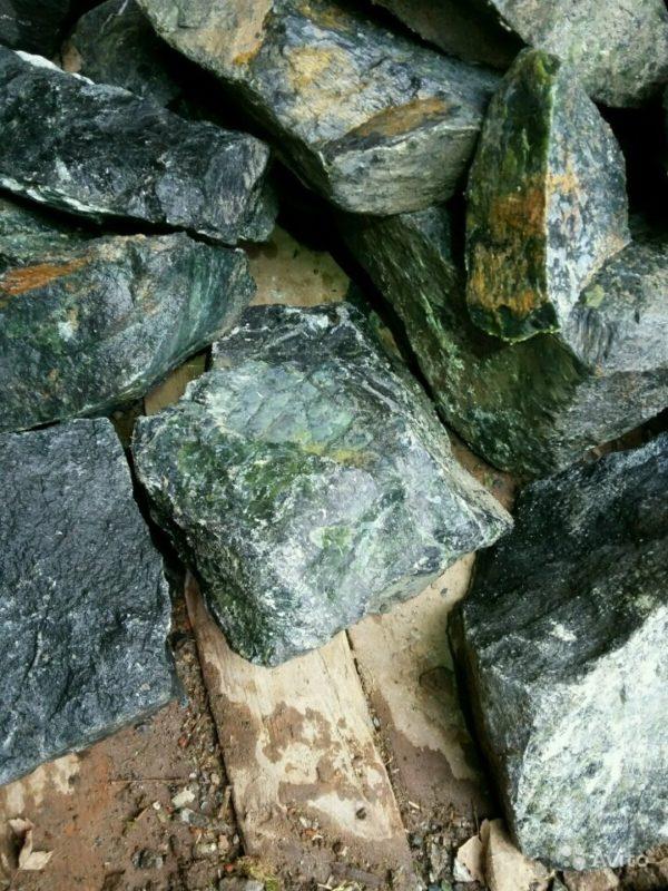 «Нефрит камень колотый не пиленный» фото - 4395936835 1 600x800
